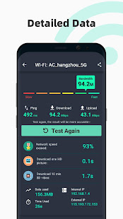 App Free Internet speed test - SpeedTest Master APK for Windows Phone