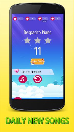 2018 Piano Tiles - Despacito Songs Tiles Piano 1.0 screenshots 6