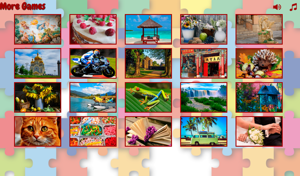 Difficult puzzles for adults- screenshot