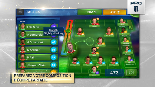 Pro 11 - Football Manager Game  captures d'écran 2