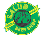 Logo for Salud Beer Shop
