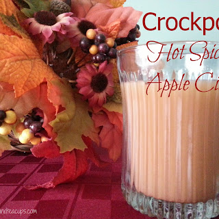 Crockpot Hot Spiced Apple Cider.