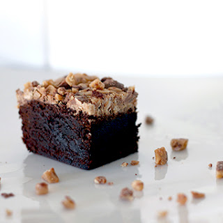 Heath Toffee Brownies