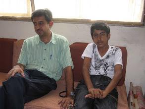 Photo: Manoj Karam and son Narendra