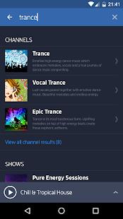 Digitally Imported Radio- screenshot thumbnail