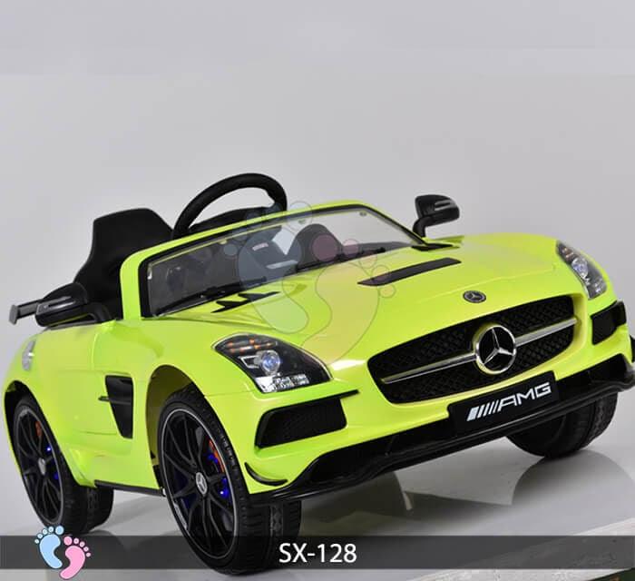 Xe hơi điện trẻ em SX-128 ghế da 11