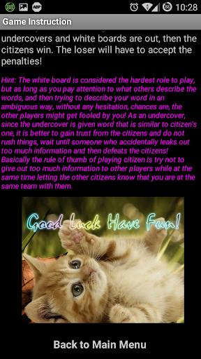 玩免費棋類遊戲APP|下載Who is Undercover <谁是卧底?> app不用錢|硬是要APP