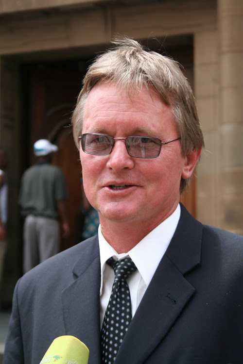 Lawyer Richard Spoor has been charged with assault after pointing at a police officer