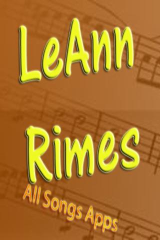 All Songs of Leann Rimes