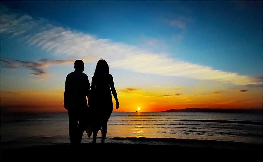 :: ku genggam tanganmu, saat pagi menyapa... :: by Eddy Due Woi - Wedding Getting Ready ( silhouette )