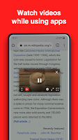 screenshot of BaroTube, Floating Video Player