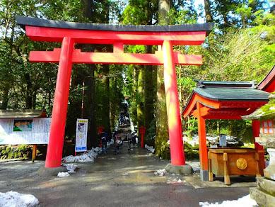 人気のパワースポット箱根神社にある開運グルメとは?お休み処「権現(ごんげん)からめもち」に行ってみた