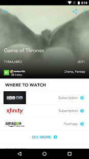 Moviefone - Movies, Trailers, Showtimes & Tickets- screenshot thumbnail