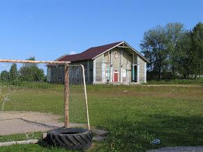 Photo: Поселок Лахколампи, спортзал, наверное
