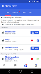 Foursquare - Best City Guide - screenshot thumbnail