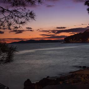 More Drage by Nena Volf - Landscapes Sunsets & Sunrises ( drage, sunset, croatia, sea, dalmatia, adriatic sea )