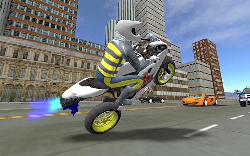 Sports bike simulator Drift 3D apkpoly screenshots 4