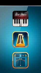 Metronome, Tuner & Piano screenshot 0