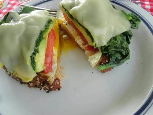 "All Good for Me Breakfast Sandwich ""I had all the ingredients except..."