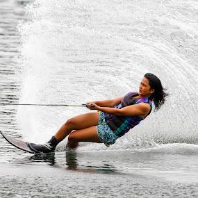 by Eric Wang - Sports & Fitness Watersports ( sports, waterski )