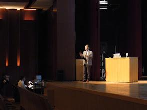 Photo: お昼からは1時間の山崎会長特別講演。