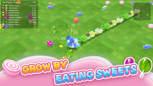 Sweet Crossing: Snake.io 1.1.21.1111 screenshots 2