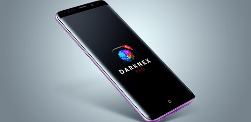 Galaxy S9 Wallpapers, 4k Amoled - Darknex Pro  app for Android screenshot