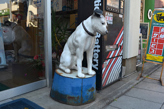 Photo: 東府中のビクター犬
