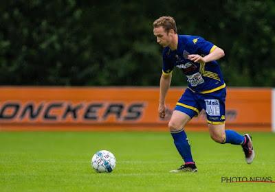 Niels De Schutter ging in minuut 92 in de fout voor Waasland-Beveren tegen Charleroi