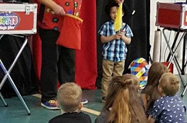 magician hire for children's magic party