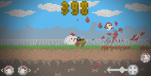 Chicka Wars | Chicken Meat screenshot 0