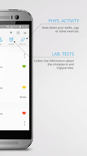Blood Pressure Log - bpresso.com 3.7 screenshots 2