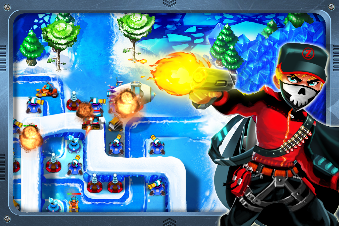 Tower Defense : Epic War- screenshot