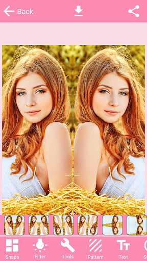 Mirror Photo Editor Collage