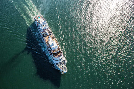 Ponant ships cruises the world in search of the exotic and beautiful.