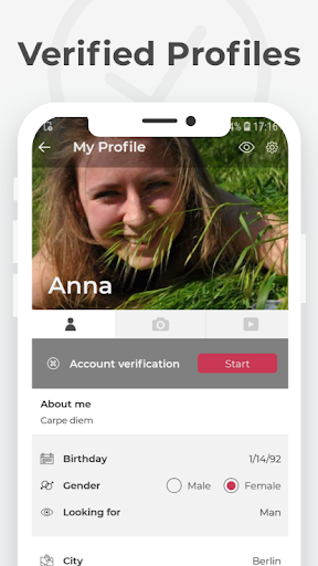 YoCutie - 100% Free. The #real Dating App. 2.0.17 screenshots 1