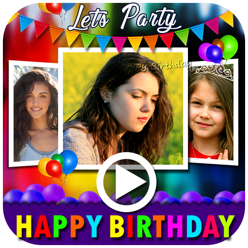 Birthday Video Maker with Music