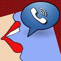 Speak Who is Calling - read notifications aloud icon