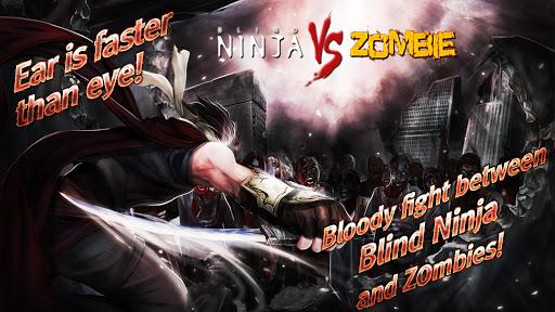 Blind Ninja vs Zombies