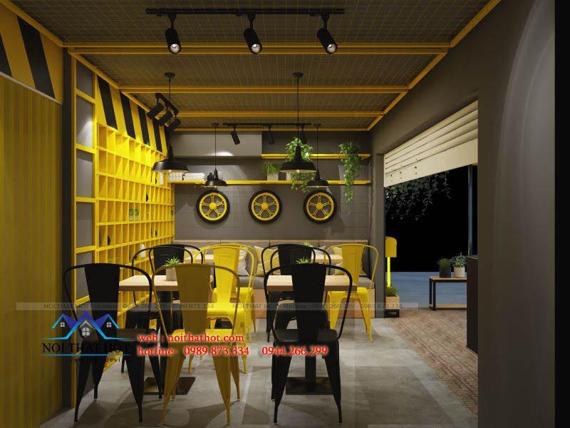 thiết kế quán kem 5