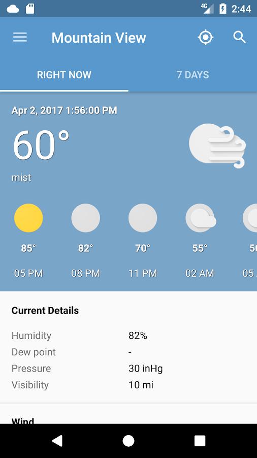 Casino temperature now