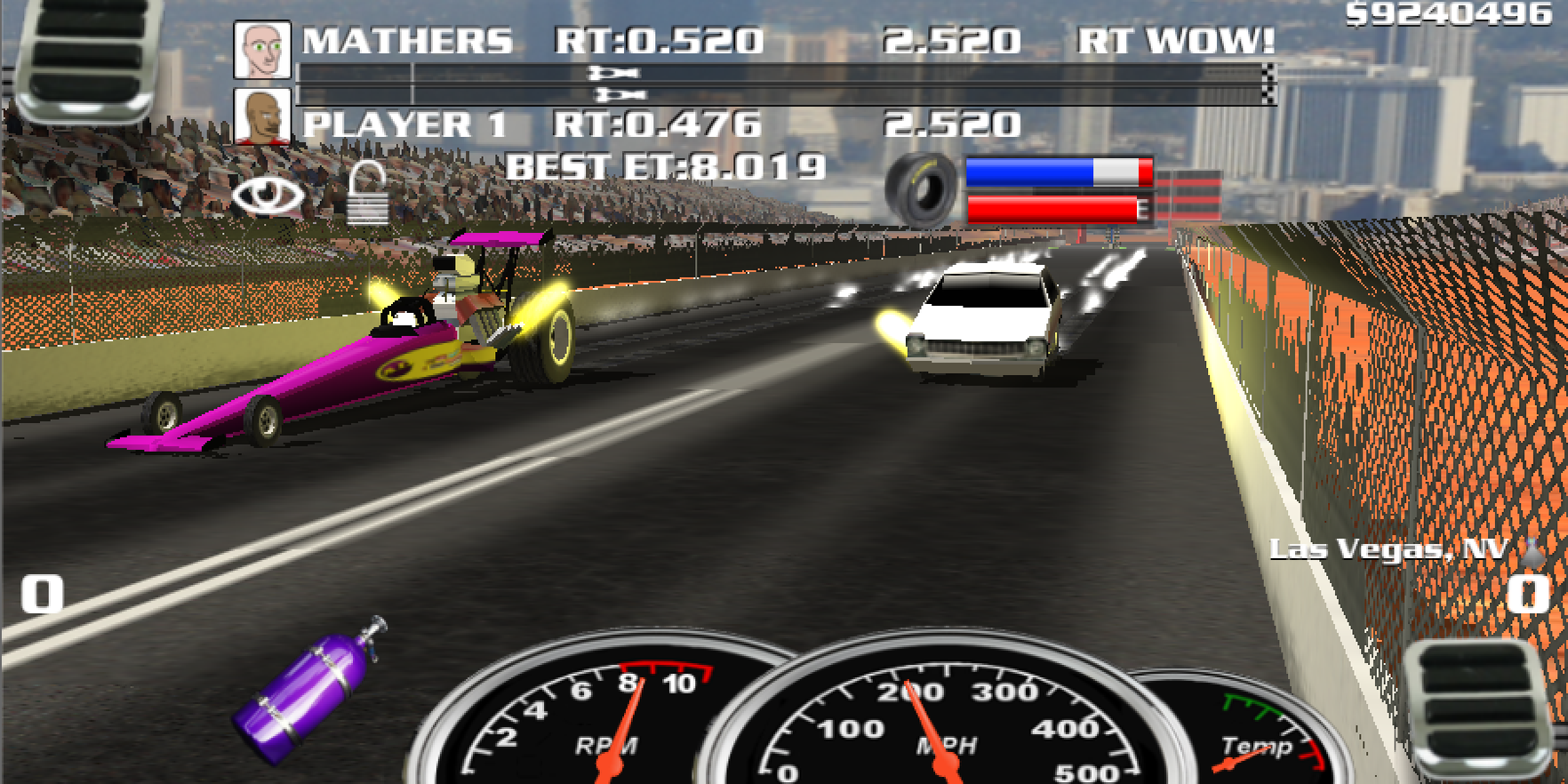 Burn out drag racing 2017 screenshot
