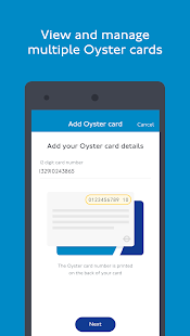 TfL Oyster- screenshot thumbnail