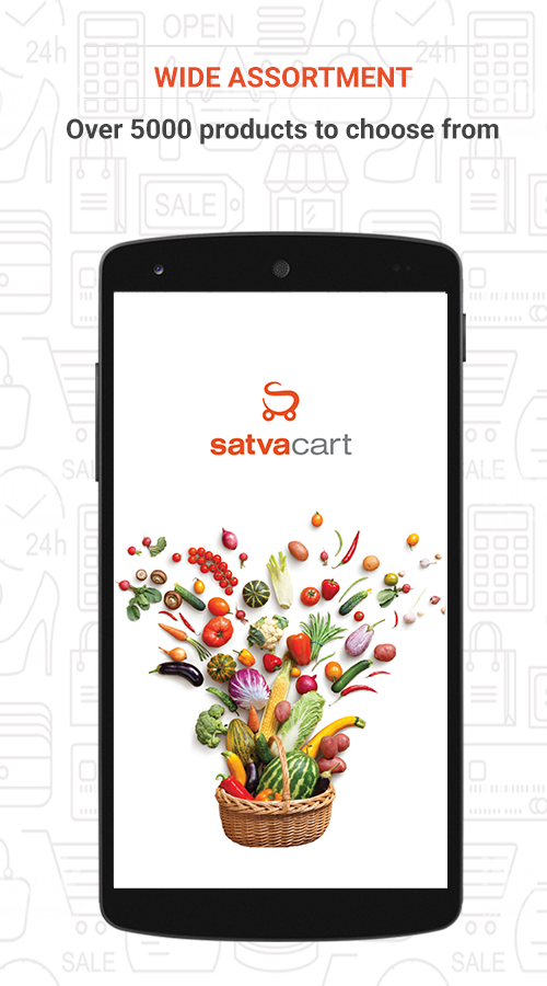 Satvacart - Grocery Shopping- screenshot