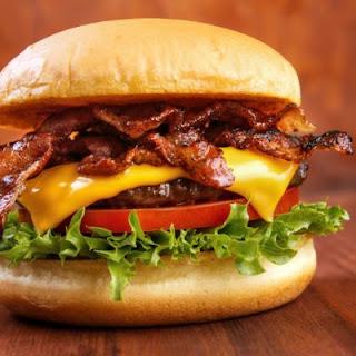 All-American Bacon Cheeseburger.