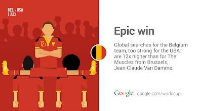 Photo: Belgium has some new action heroes. #BEL #GoogleTrends http://goo.gl/Fxad0A