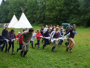 Photo: A máme tu první opravdovou soutěž - Ručníkiádu, jíž se zúčastnily i Župani
