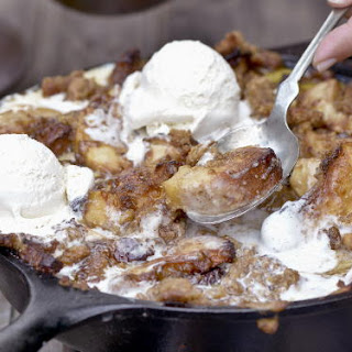 Smoked Bacon-Bourbon Apple Crisp
