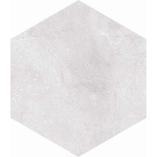 Klinker Hexagon Rift Blanco 23x26,6
