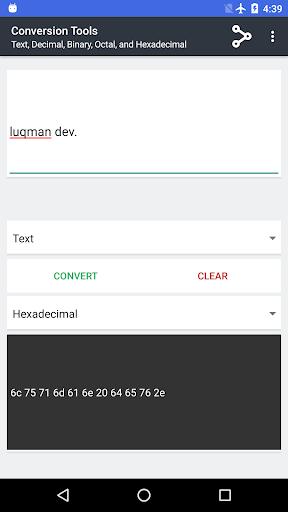 Screenshot 4 Conversion Tools